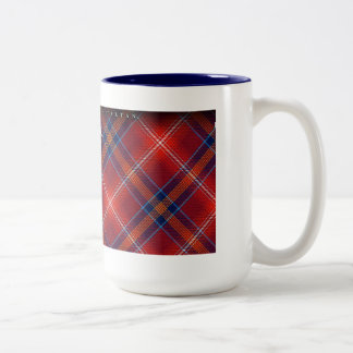 FOR HIM Blue Mug - Red Lichtie - Customizable -