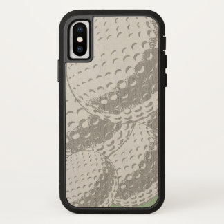 For Him Modern Graphic Golf ball iPhone iPhone X Case