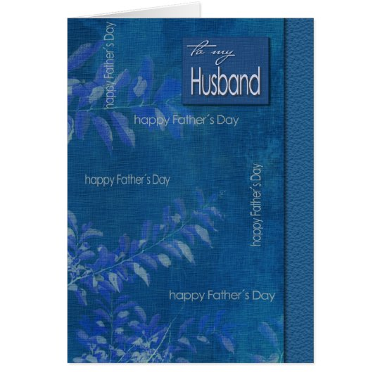 For Husband on Father's Day Customisable Cards