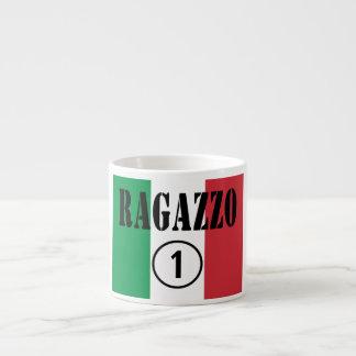 For Italian Boyfriends : Ragazzo Numero Uno. Espresso Mug