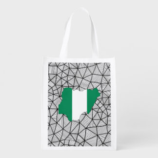 For Kids: Creative Nigeria Flag With Map