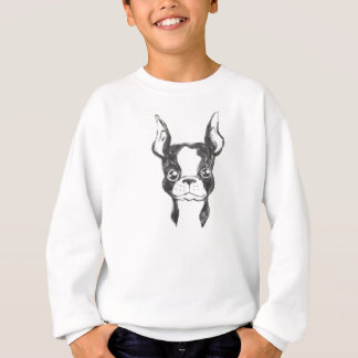 For Kids - Hand Painted Ketchup Dog Boy's Sweater