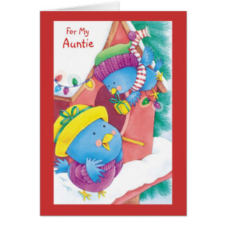 For My Auntie Card