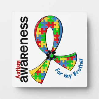 For My Brother Autism Plaques