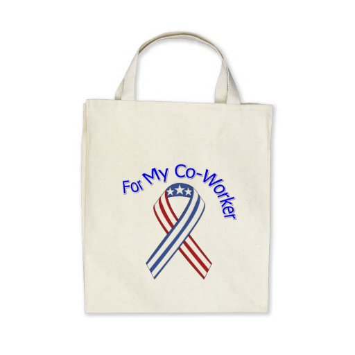 For My Co-Worker Military Patriotic Bags