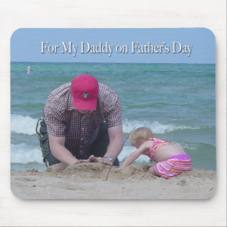 For My Daddy Father's Day Mouse Pad