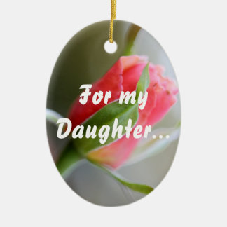 For My Daughter: Stay Strong in Faith (1 Timothy 4 Christmas Ornament