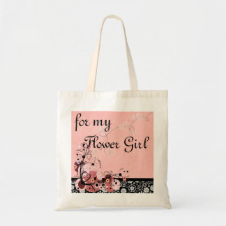For my Flower Girl Tote Bag