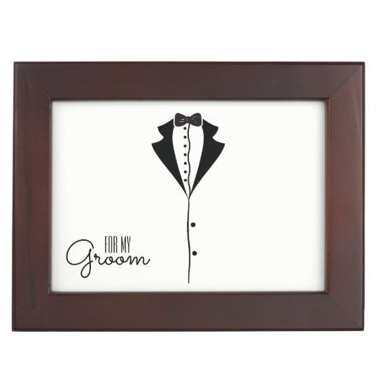 'For My Groom' Keepsake Box