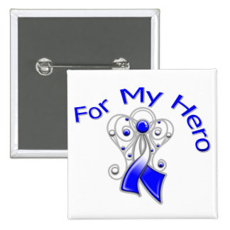 For My Hero ALS Disease Pinback Button