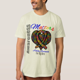 For My Hero - Autism Awareness T Shirts