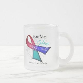For My Hero I Wear a Ribbon Thyroid Cancer Coffee Mug