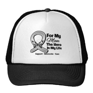 For My Hero My Mom - Brain Cancer Cap
