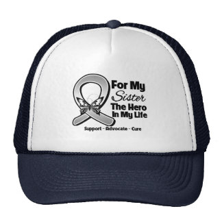 For My Hero My Sister - Brain Cancer Cap
