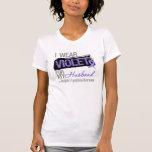 For My Husband - Hodgkins Lymphoma Ribbon Tshirt
