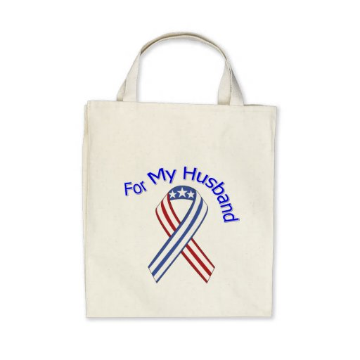 For My Husband Military Patriotic Bags