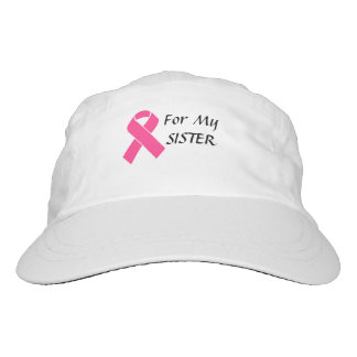 for my sister breast cancer hat apparel