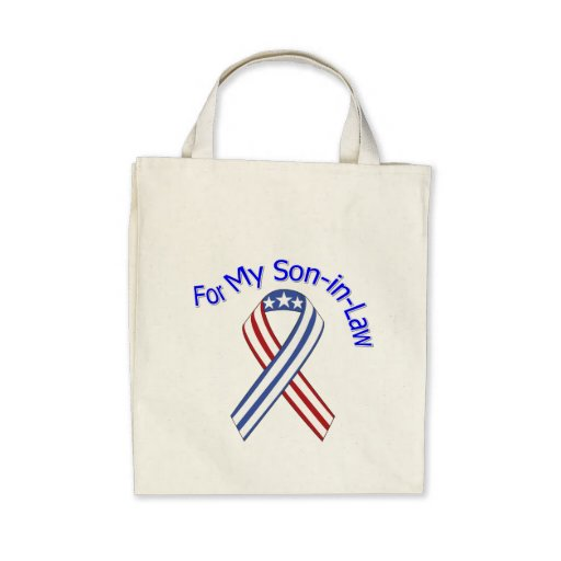 For My Son-in-Law Military Patriotic Bag