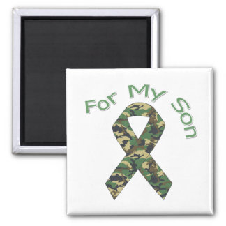 For My Son Military Ribbon Magnet