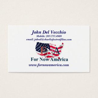 For Now America John Del Vecchio