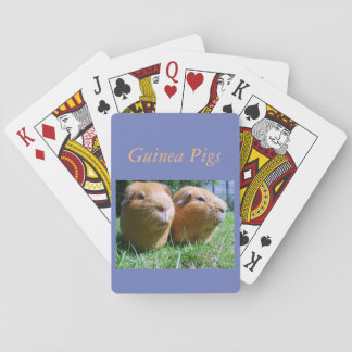 For people who enjoy Guinea pigs Playing Cards