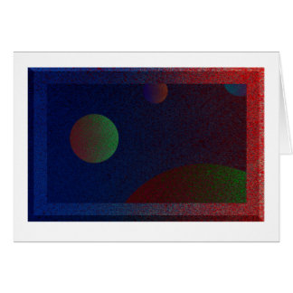 For Planets Greeting Card