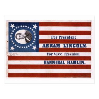 For president Abram Lincoln Postcards
