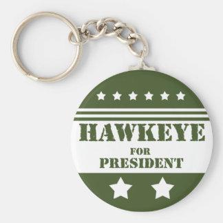 For President Hawkeye Keychains