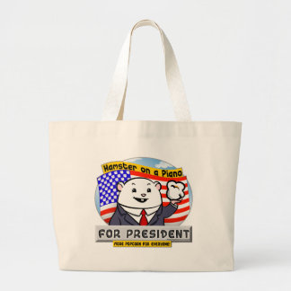 For President Large Tote Bag