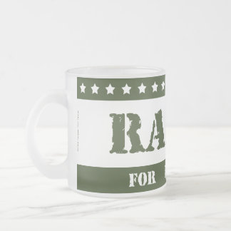 For President Radar Frosted Glass Coffee Mug