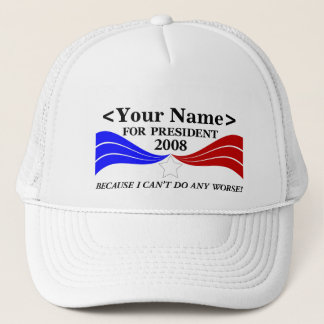 ... for President Template Trucker Hat