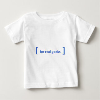 [ for real geeks ] tee shirts