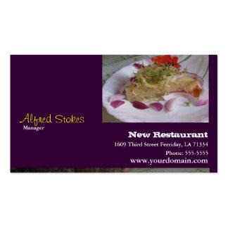 For Restaurants Pack Of Standard Business Cards