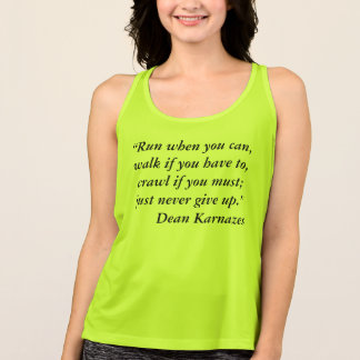 For Runners Tank Top