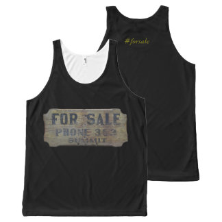 for sale All-Over print tank top