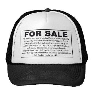 For Sale - Barack Obama s US Senate Seat Hats