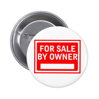 For Sale By Owner 6 Cm Round Badge