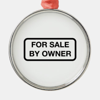 For Sale By Owner Christmas Tree Ornament