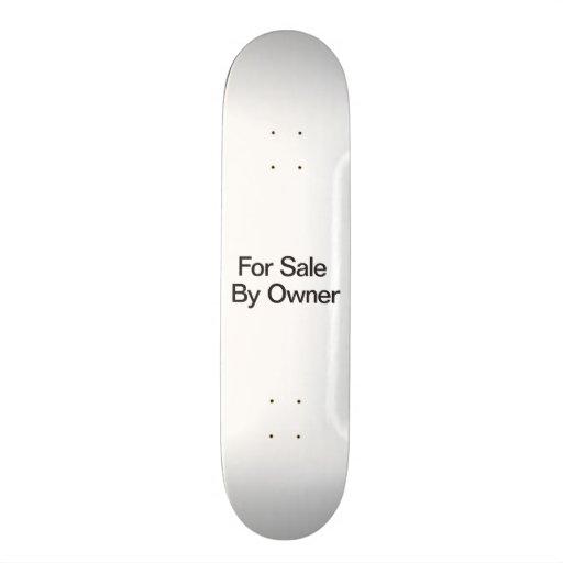 For Sale By Owner Custom Skateboard