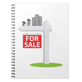 For Sale Sign Notebook