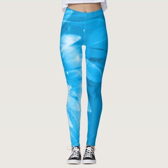 For Shanti (blue) Leggings