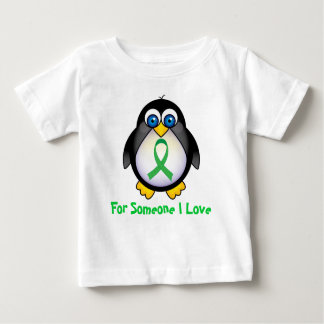 For Someone I Love Green Ribbon Gift Baby T-Shirt