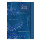 For Son on Father's Day Customisable Cards