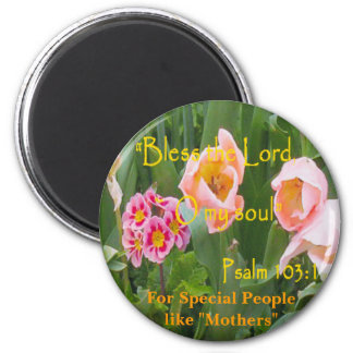 For Special People like Mothers 6 Cm Round Magnet