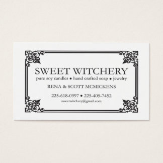 For Sweet Witchery Business Card