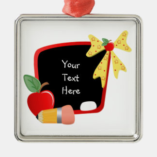 For Teacher (customizable) Christmas Ornament