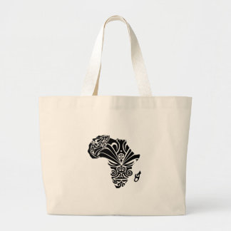 FOR THE AFRICA JUMBO TOTE BAG
