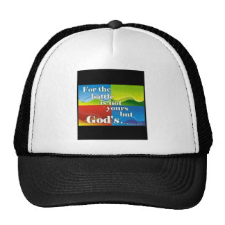 For the Battle is Not Yours Mesh Hats