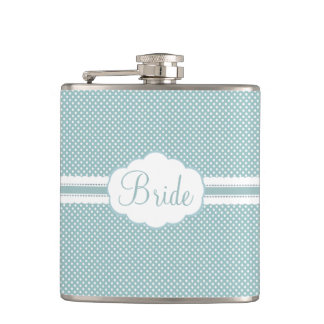 For The Bride Hip Flask