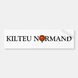 For the cars of Kilteux Bumper Sticker